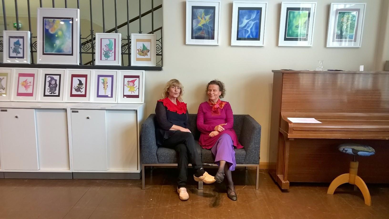 Ilona Tomi ja Anna-Liisa Tarvainen
